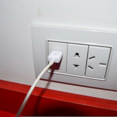 Pro - different electric outlets